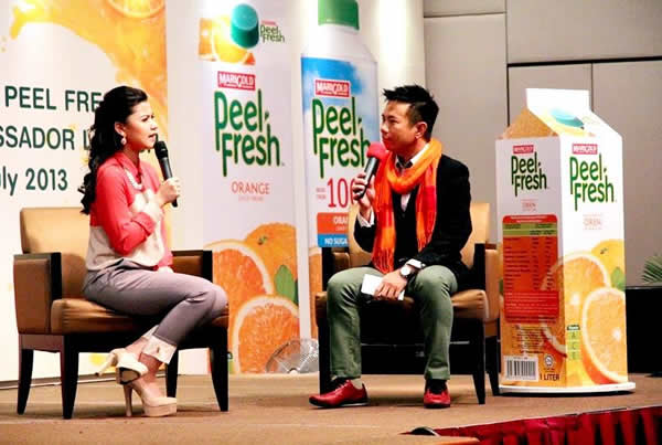 Marigold Peel Fresh Brand Ambassador Launch