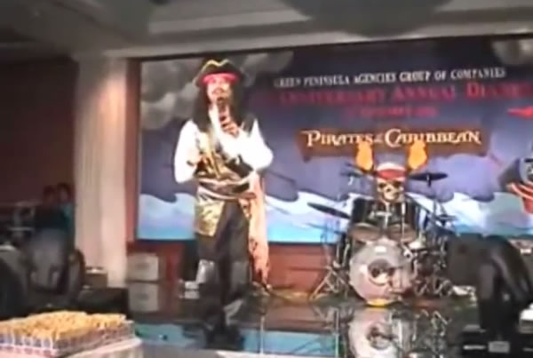 "Annual Dinner – ""Pirates of the Caribbean"" themed"