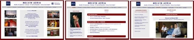 MelvinAeriaOldWebsite