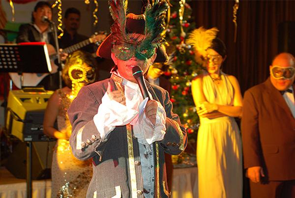 Melvin Aeria – Masquerade