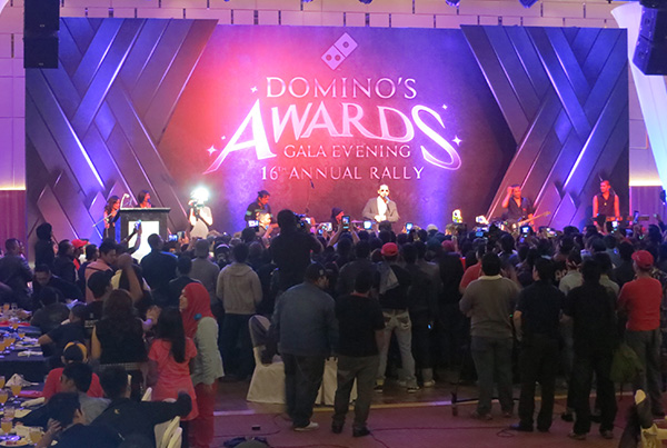 Dominos Pizza Awards Gala Dinner
