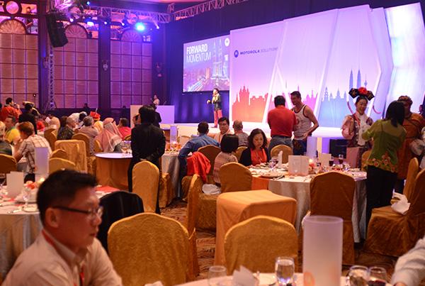 Motorola Solutions Sales Kick-Off Gala Dinner